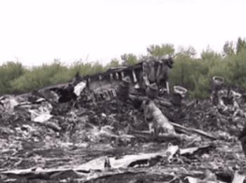 Пошук тіл загиблих з літака Боїнг 777 (18.07.2014)