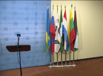 Security Council Media Stakeouts (Ukraine)