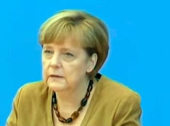 "Angela Merkel about downed Boeing 777 of ""Malaysia Airlines"""