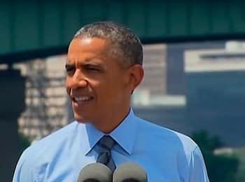 Барак Обама про збитий Боїнг 777 авіакомпанії «Малайзійські авіалінії»