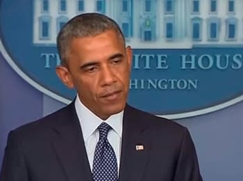 Obama accepted a new package of sanctions against the Russian Federation (July 17, 2014)