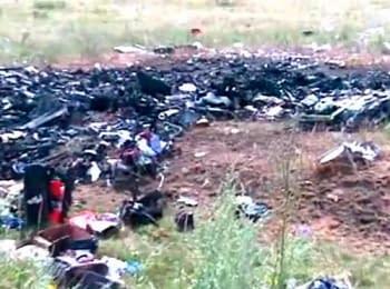 Поисковая группа обнаружила тела всех 298 погибших в крушении Боинга 777 авиакомпании «Малайзийские авиалинии» (18+ нецензурная лексика)