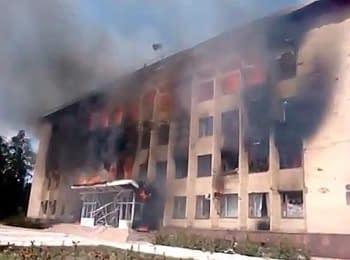 Дзержинськ: Після бою (21.07.2014)
