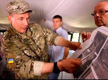 Міністр оборони України має докази щодо ведення вогню з території Росії (24.07.2014)