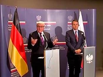 Штайнмаєр та Сікорський про санкції проти РФ (24.07.2014)