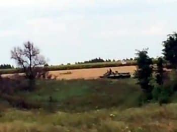 On border with Russia: Velyka Pysarivka (July 23, 2014)