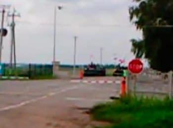 On border with Russia: Tymofiivka (July 23, 2014)