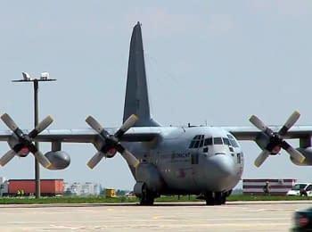 Відправка тіл загиблих з Харківського аеропорту в Нідерланди (25.07.2014)