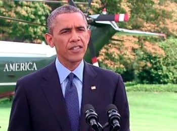 США ввели нові санкції проти Росії – Обама (29.07.2014) (English)