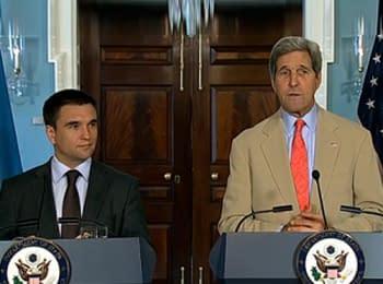 Совместная пресс-конференция Госсекретаря США Джона Керри и Министра иностранных дел Украины Павла Климкина (29.07.2014) (English)
