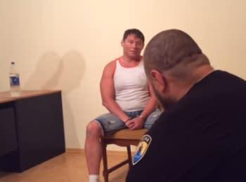 Interrogation of the mayor Stakhanov