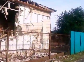 Debaltseve: Destruction (August 1, 2014)
