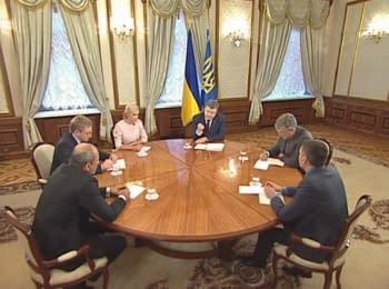 Інтерв'ю Президента Петра Порошенка українським телеканалам