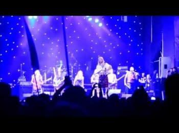 Ірландський гурт Cruachan виконав Гімн України на фестивалі у Луцьку