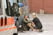 Вибух на Європейській площі в Києва, є постраждалі (08.08.2014)