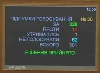 Парламент ухвалив Закон про реформування ГТС (14.08.2014)