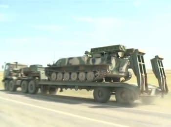 Польський телеканал показав в прямому ефірі пересування російської важкої техніки в бік кордону з Україною (17.08.2014)