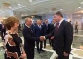 В Минске Порошенко встретился с Путиным (26.08.2014)