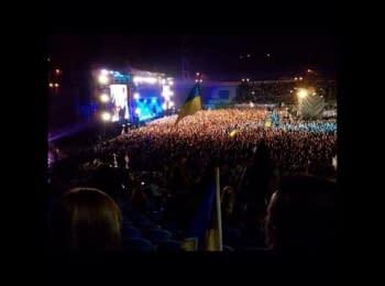«Воины света» - «Ляпис Трубецкой» в Киеве (26.08.2014)