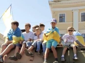 Одесситы выступили против войны в Украине
