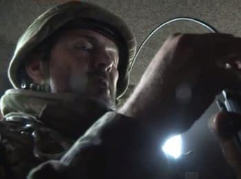 Командир батальона «Днепр-1» в составе колонны прорывается из окружения под Иловайском
