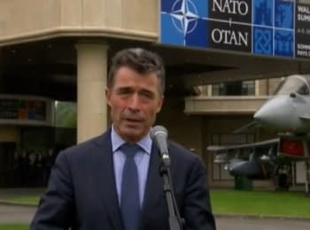 "Rasmussen about ""the peace plan"" by Putin across Ukraine (September 4, 2014)"