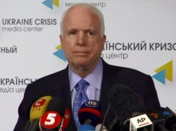 Press conference of US Senator John McCain in Kyiv, on September 4, 2014  (English)
