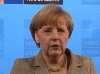 Меркель поддерживает Украину и готовит новые санкции против РФ