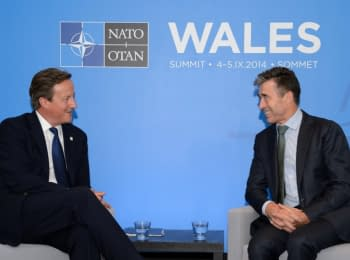 Cameron and Rasmussen about a situation in Ukraine (September 4, 2014)