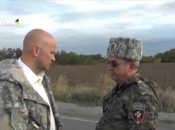 Ataman of a LNR told about Yanukovych and his surroundings (18+) 22.09.2014
