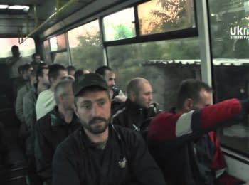 Розповіді полонених, звільнених СБУ, 22.09.2014