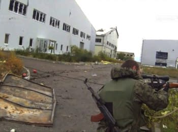 Проросійські терористи в Донецькому аеропорту