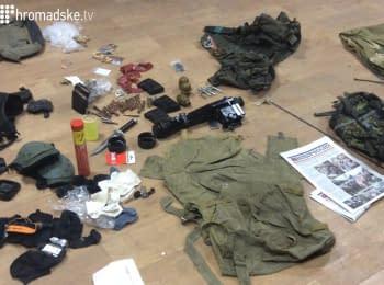 СБУ задержала участника боевых действий со стороны террористов по кличке «Хантер»