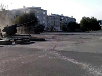 Терористи стріляють з артилерії з житлових кварталів