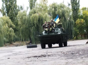 """On the way to the """"truce"""": Izium - Debaltseve"""