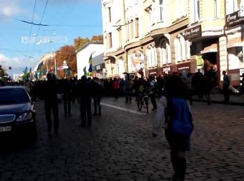 """Харьков, """"Марш Единства"""", 28.09.2014"""