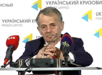 "Mustafa Dzhemilev. ""Situation with Crimean Tatars: is it a new genocide?"", 06.10.2014"