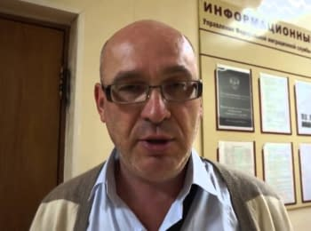 A refugee from Lugansk said that militants from so-called LPR took him into captivity and have seized his property