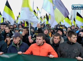 Російський марш. Зіткнення смислів