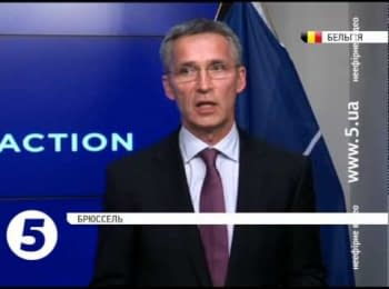 """The Russian army is returning to the Ukrainian border"" - NATO secretary-general Jens Stoltenberg"