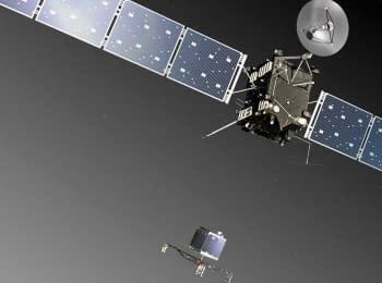 Rosetta - landing on a comet. Live Stream