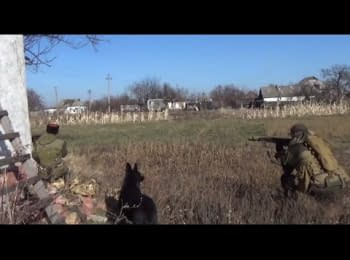 (English subtitles) Fight in Nikishino. Video of militants
