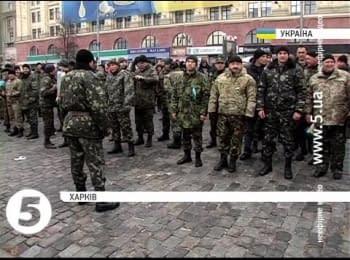 Kharkiv battalion of territorial defence returned home