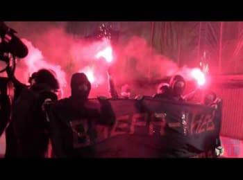Річниця Майдану: акція біля Кремля