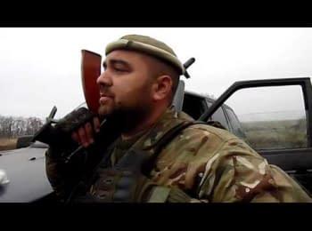 """Artillerist of """"Azov"""" battalion - """"I'm alive, mom, i'm alive"""""""