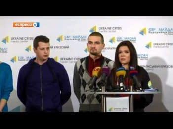 "Ruslana talking about the ""Memory Night"""