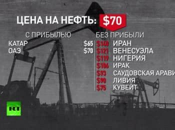 RT: Падіння ціни на нафту і курсу рубля - добре для Росії