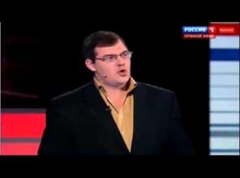 """Телеканал """"Росія-1"""": Українські солдати в зоні АТО гріються кров'ю російських немовлят"""