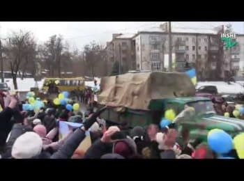 Soldiers of the 19th Territorial Defense Battalion in Mykolaiv region returned from the ATO zone