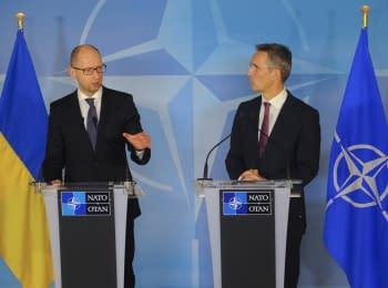 "(English) Ukraine-NATO ""roadmap"": cancellation of non-aligned status, implementation of reforms and referendum"